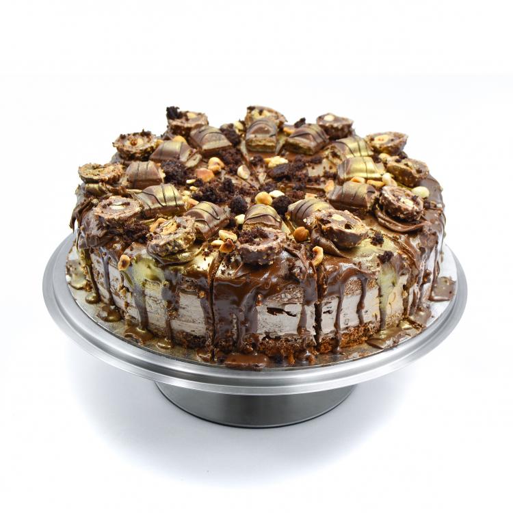 FERRERO ROCHER & NUTELLA CAKE