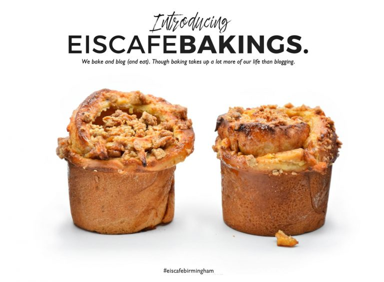 Say Hello To Our Newest Range… Eis Cafe Bakings